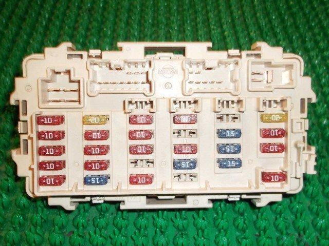расшифровка предохранителей ниссан х-трейл т32 Дакайн