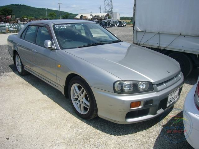 Авто в разборе NISSAN SKYLINE 2.5GT 4DOOR SEDAN